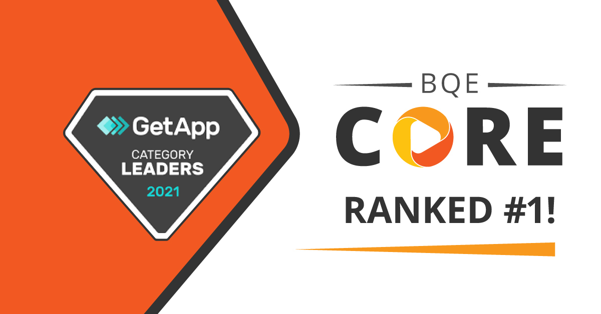 BQE CORE Named 2021 Accounting Category Leader by GetApp