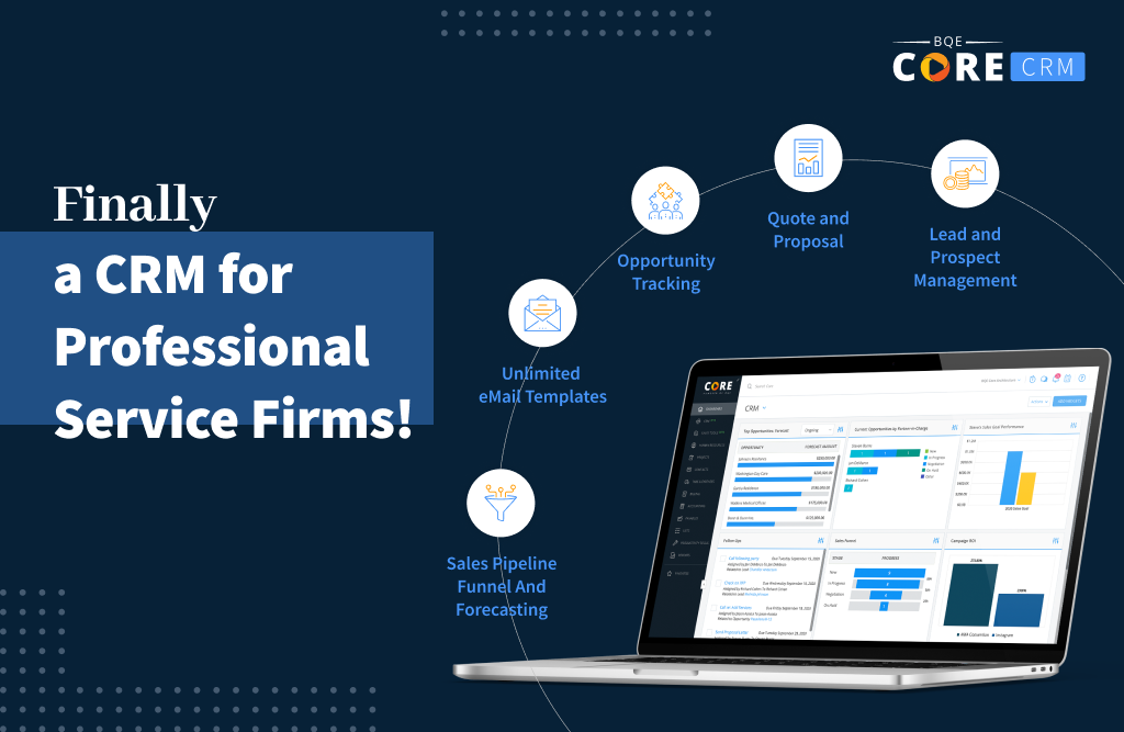 Finally, a CRM for Professional Service Firms